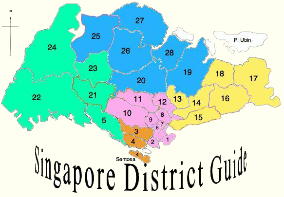 Singapore-District-Guide